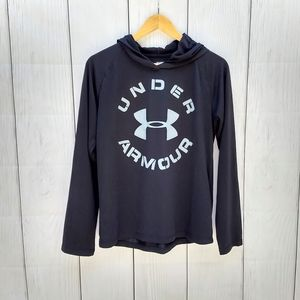 Under Armour boys black hoodie